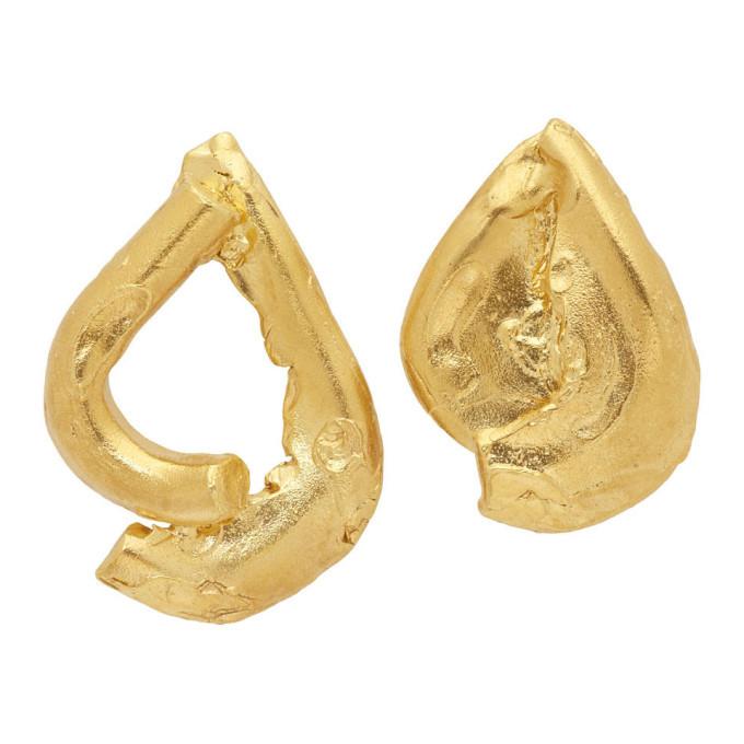 Alighieri Gold The Warrior Earrings