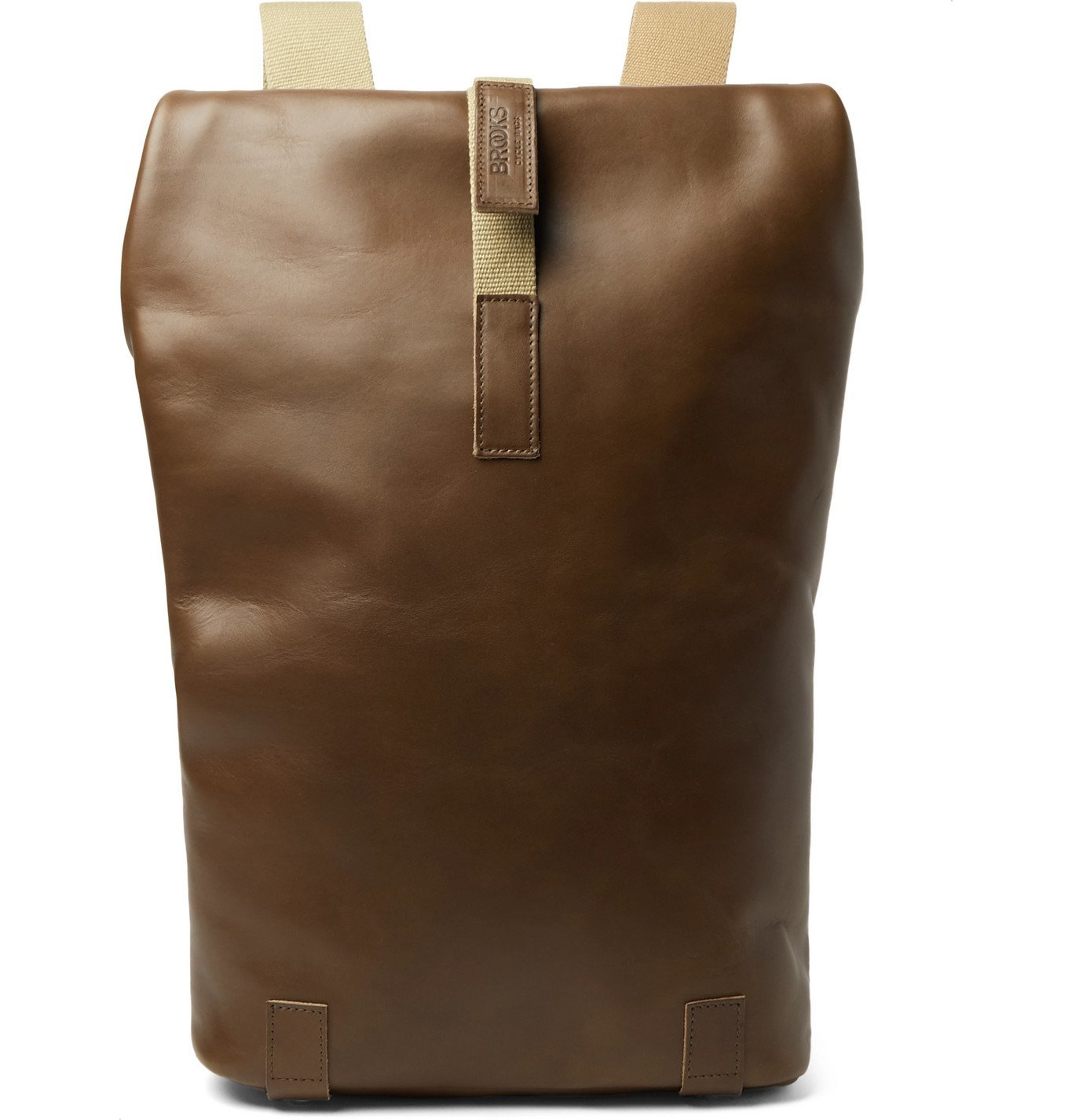 Photo: Brooks England - Pickwick Small Leather Backpack - Brown