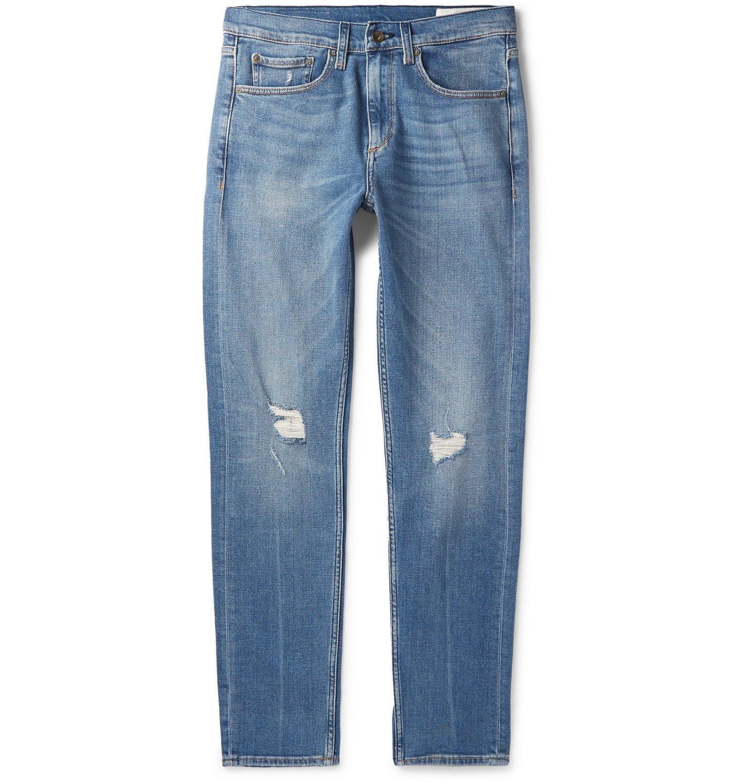 Photo: rag & bone - Fit 2 Slim-Fit Stretch-Denim Jeans - Blue