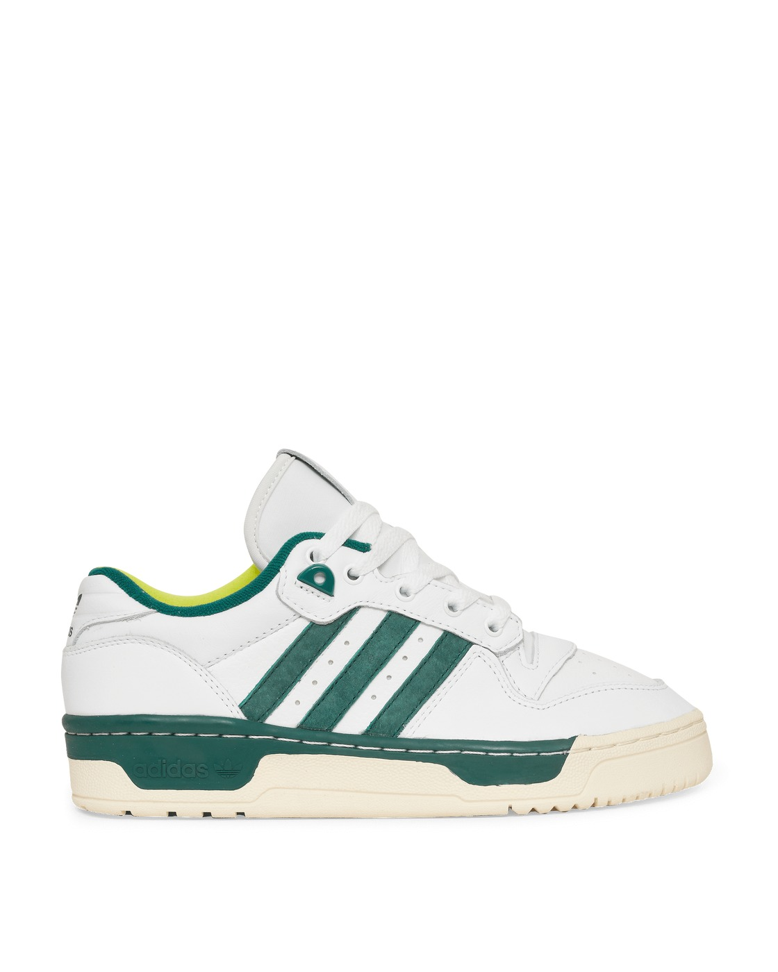Photo: Adidas Originals Rivalry Low Premium Sneakers Ftwr White/Cream White 36