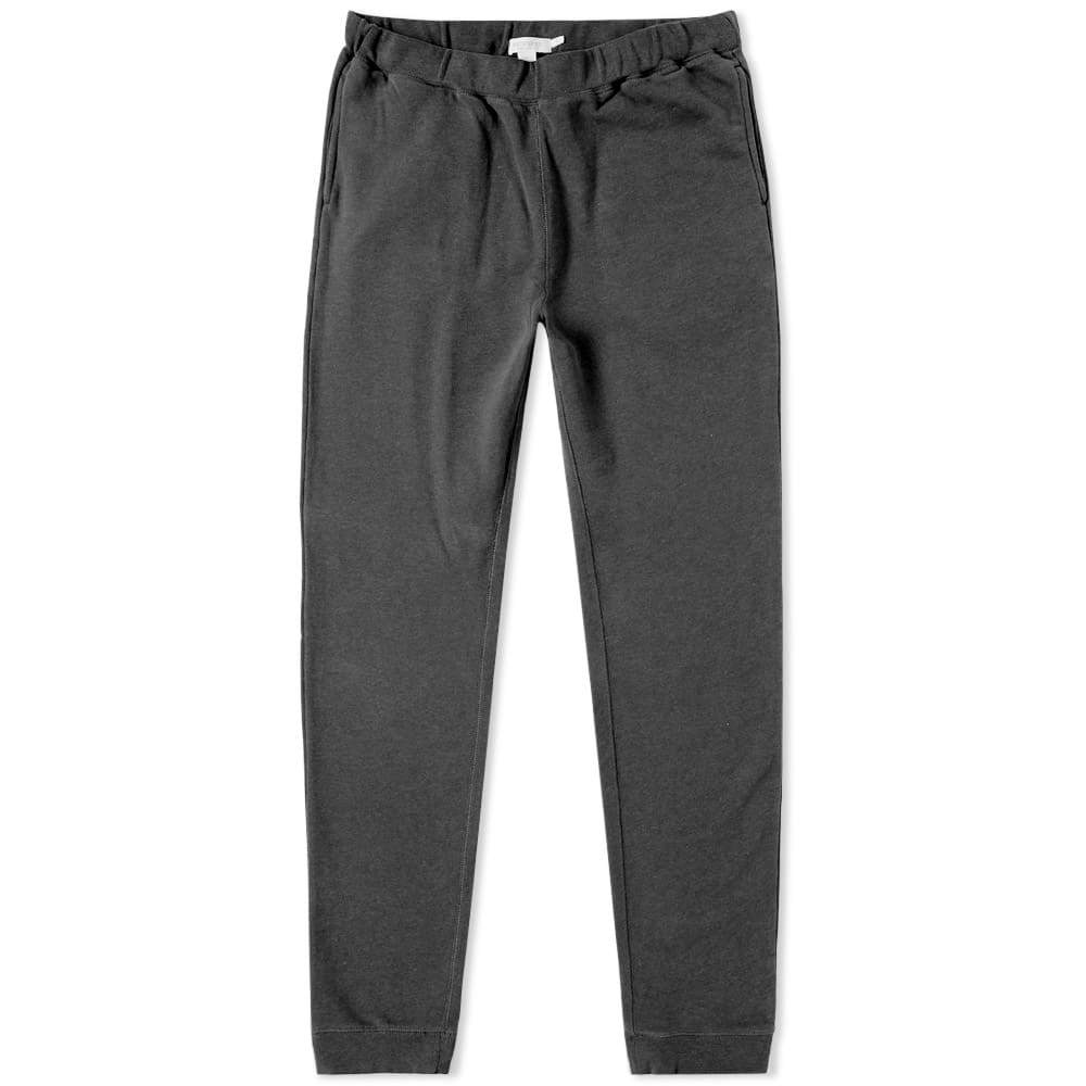 Sunspel Loopback Sweat Pant Grey