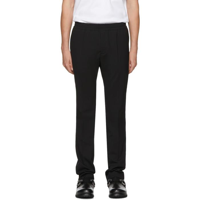 Alyx Black Elastic Waist Trousers