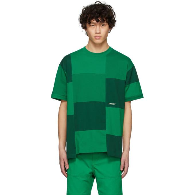 Photo: Ambush Green Block Panel T-Shirt