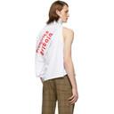 Martine Rose White Two Way T-Shirt