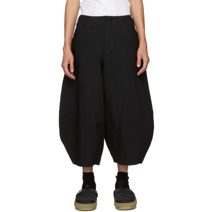 Comme des Garcons Homme Plus Black Sarge Trousers