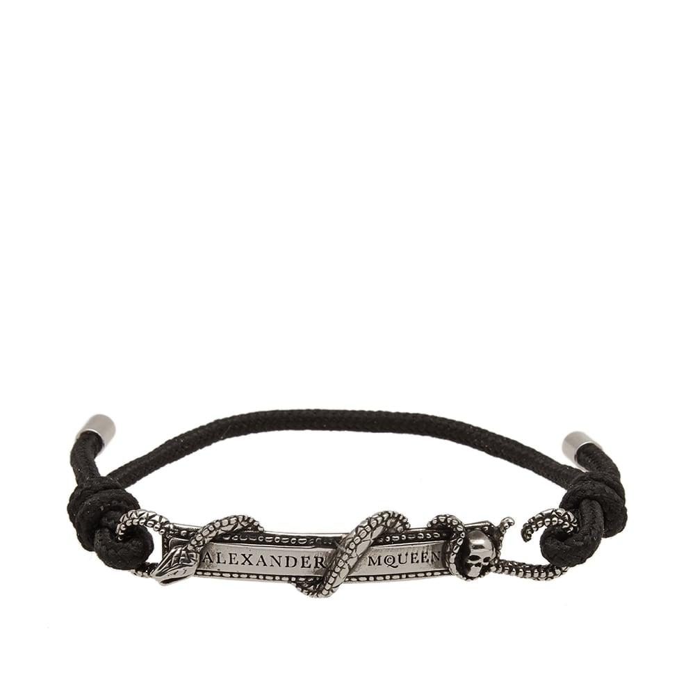 Photo: Alexander McQueen Snake & Horse Cord Bracelet