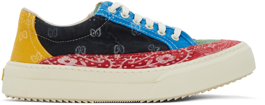 Photo: Rhude Multicolor Festival Banada V2 Sneakers