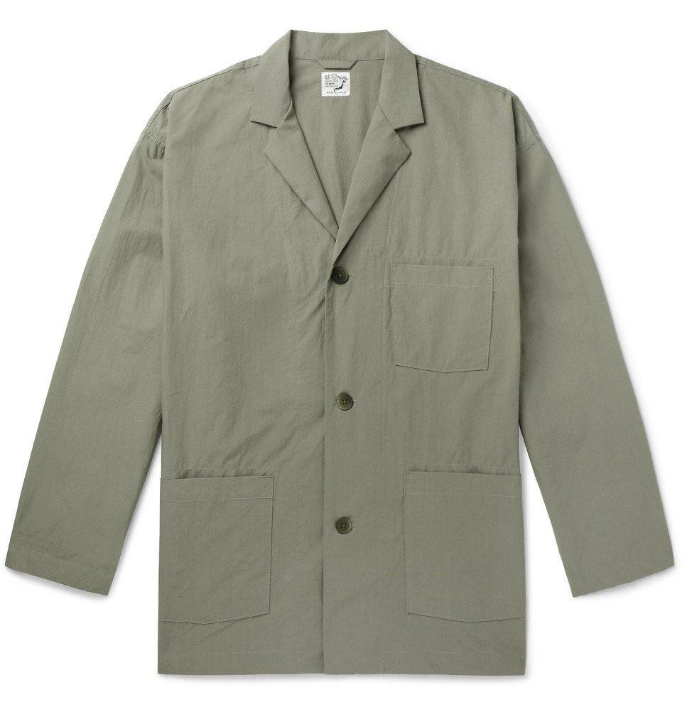 Photo: OrSlow - Oversized Cotton-Canvas Shirt Jacket - Gray