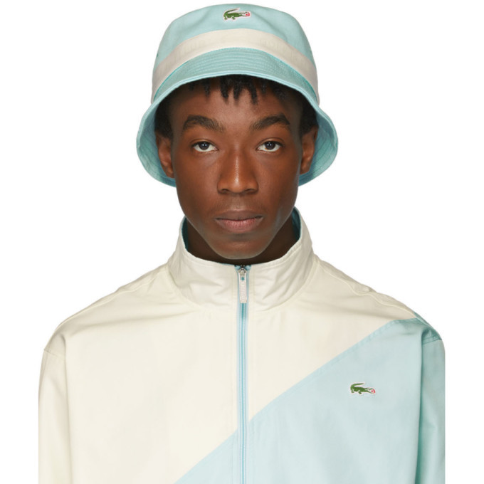 Lacoste Blue Golf le Fleur* Edition Logo Bucket Hat