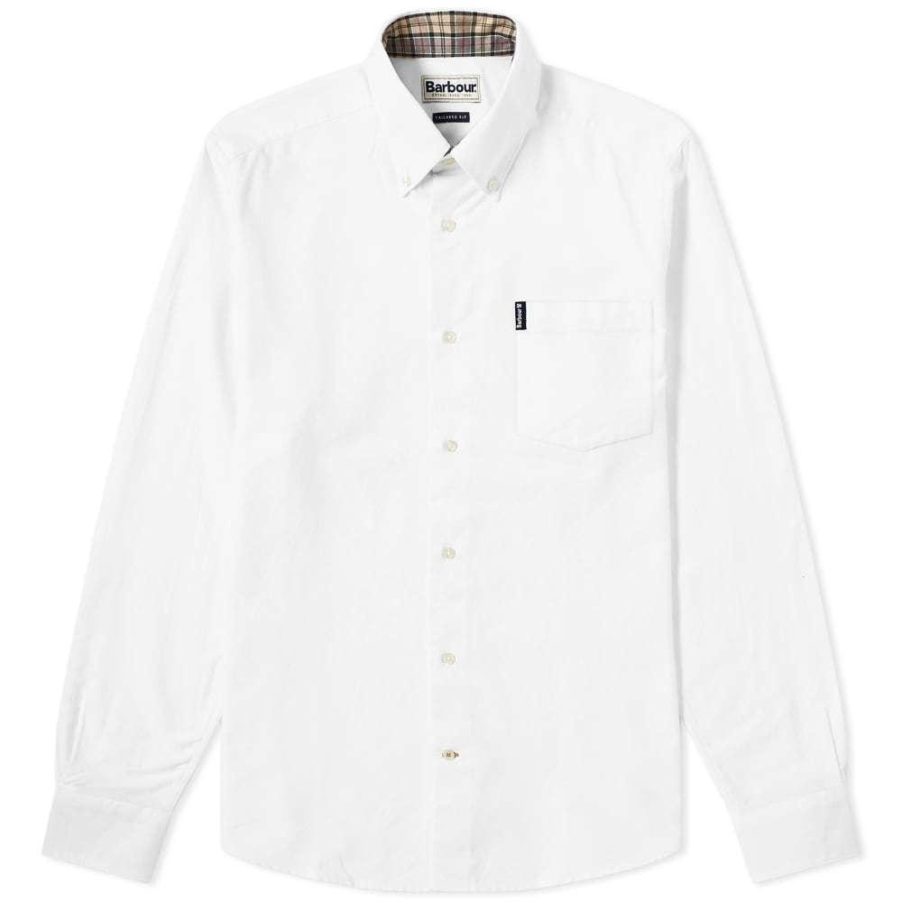 Photo: Barbour Oxford Shirt White