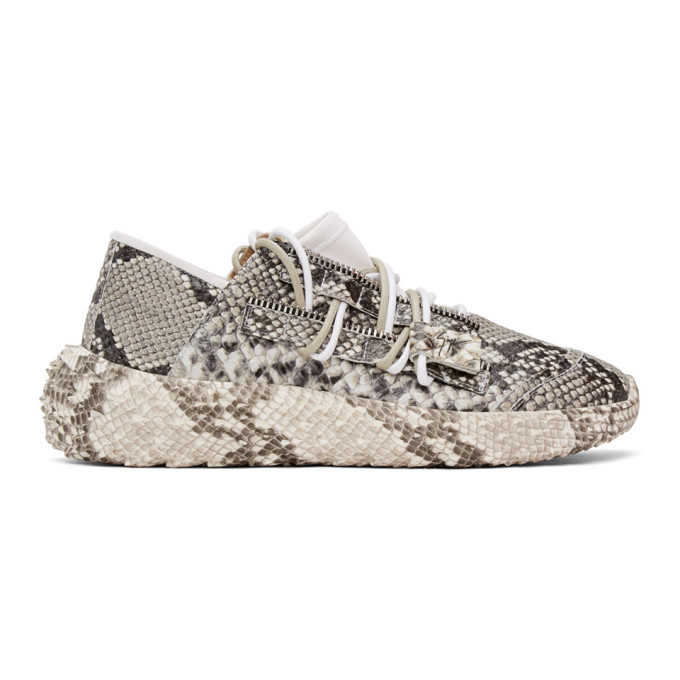 Photo: Giuseppe Zanotti Grey Snake Urchin Sneakers