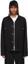 Sacai Black KAWS Edition Canvas Jacket