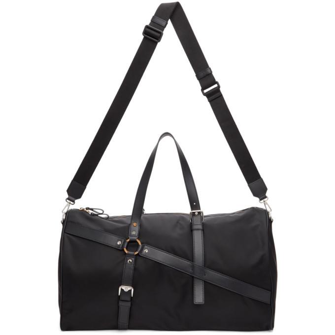 Photo: Versace Black Bondage Duffle Bag