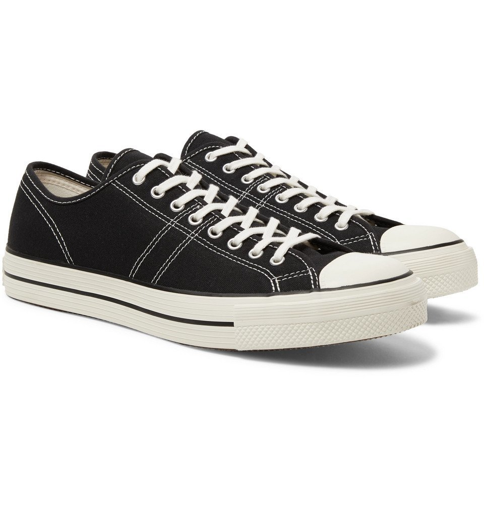 Photo: Converse - Lucky Star Ox Canvas Sneakers - Black