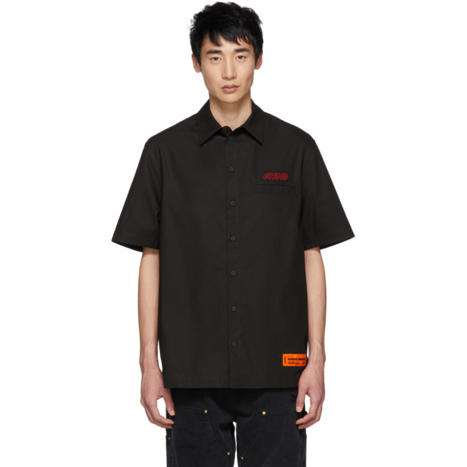 Photo: Heron Preston Black Style Short Sleeve Shirt