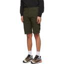 C.P. Company Green Bermuda Cargo Shorts