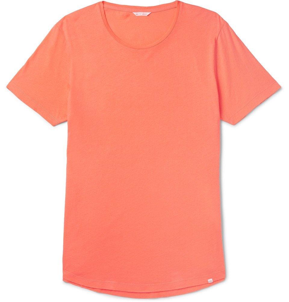 Photo: Orlebar Brown - OB-T Slim-Fit Cotton-Jersey T-Shirt - Orange