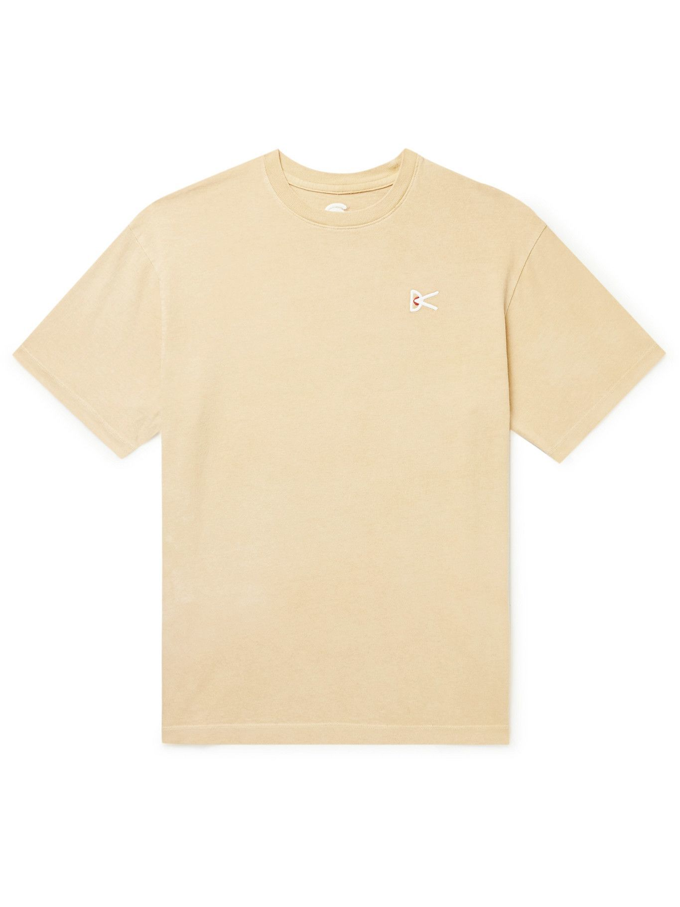 Photo: District Vision - MR PORTER Health In Mind Karuna Recycled Cotton-Blend Jersey T-Shirt - Yellow