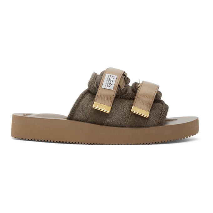 Photo: Suicoke Brown MOTO-VHL Sandals