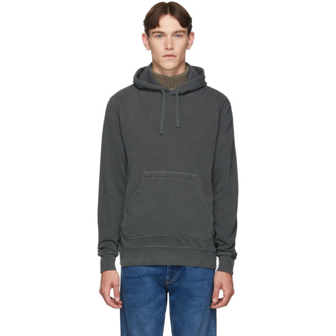 Photo: Officine Generale Grey Olivier Hoodie