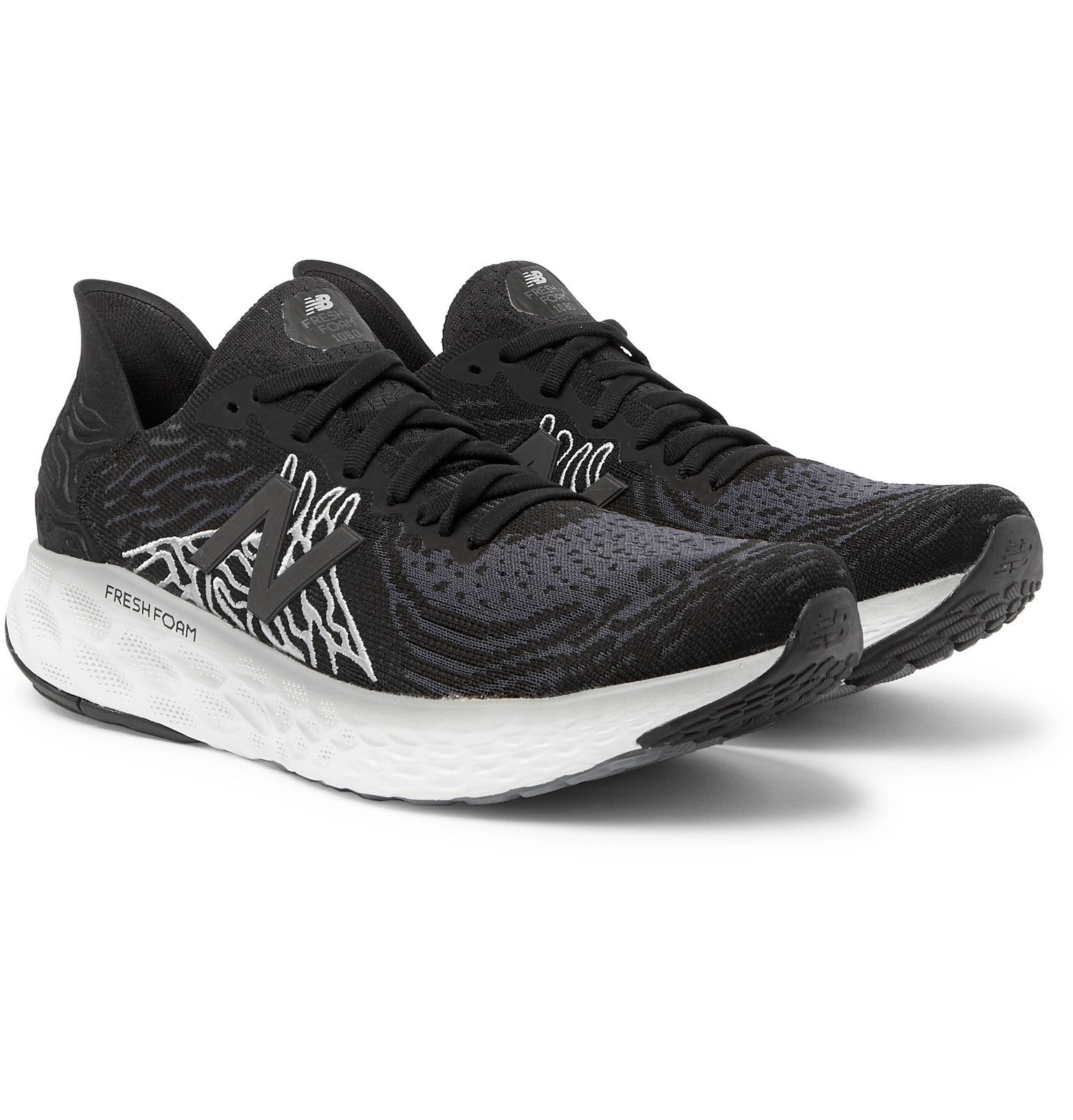 New Balance - Fresh Foam Hypoknit Running Sneakers - Black