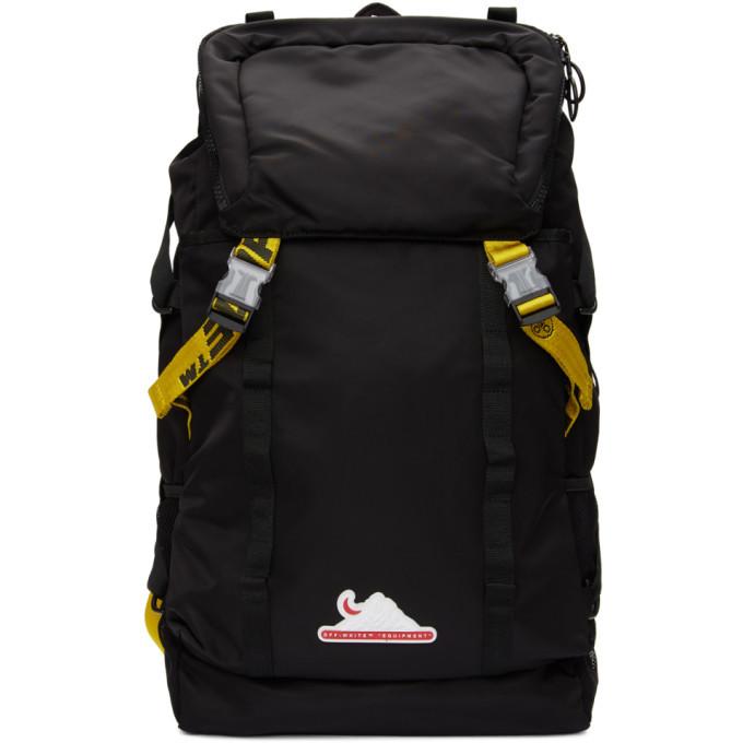 Photo: Off-White Black Nylon Equipment Backpack