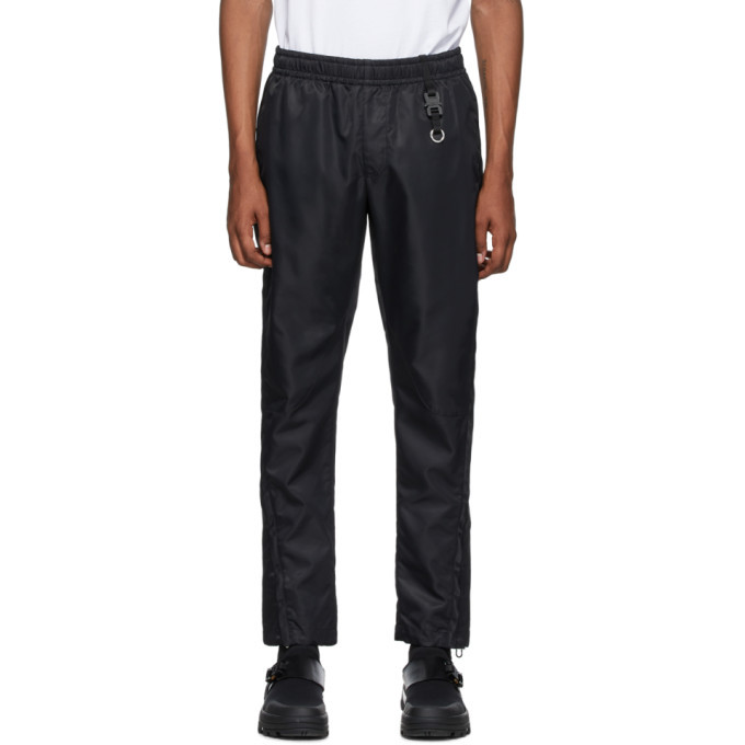 Photo: 1017 ALYX 9SM Black Nylon Lounge Pants