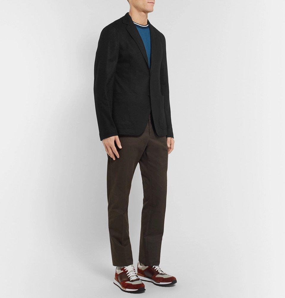 Bottega Veneta - Black Slim-Fit Unstructured Cashmere Blazer - Men - Black