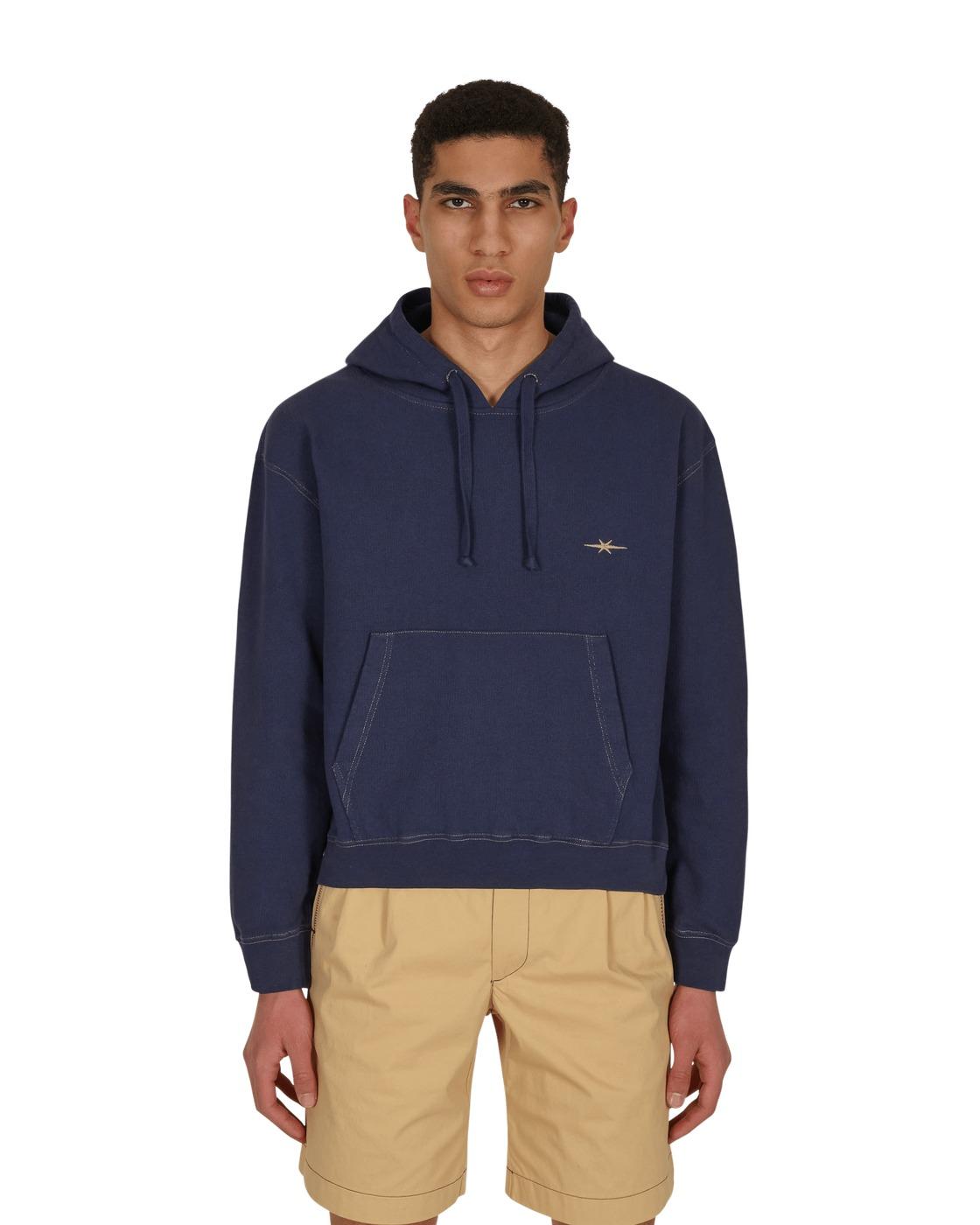 Photo: Phipps Fleece Logo Hooded Sweatshirt Navy