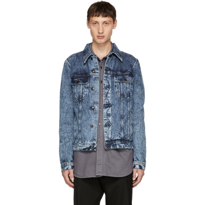 Photo: Stella McCartney Blue Dirty Denim Jacket