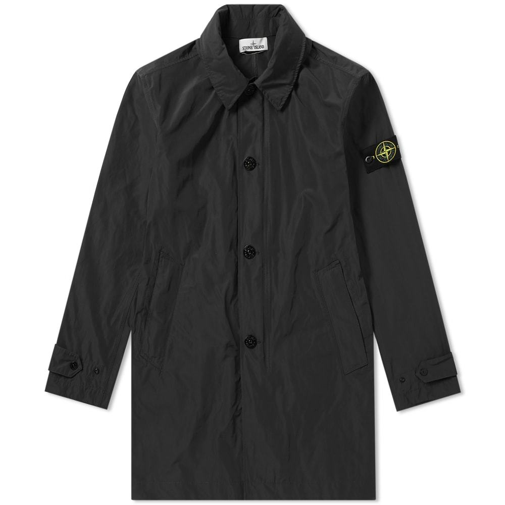 Photo: Stone Island Micro Reps Trench Jacket Black