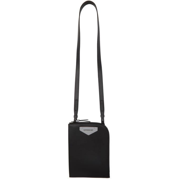 Photo: Givenchy Black Antigona Portfolio Pouch