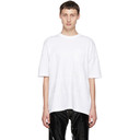 Sacai White Embroidered T-Shirt