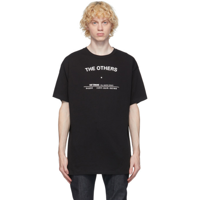 Photo: Raf Simons Black Tour T-Shirt