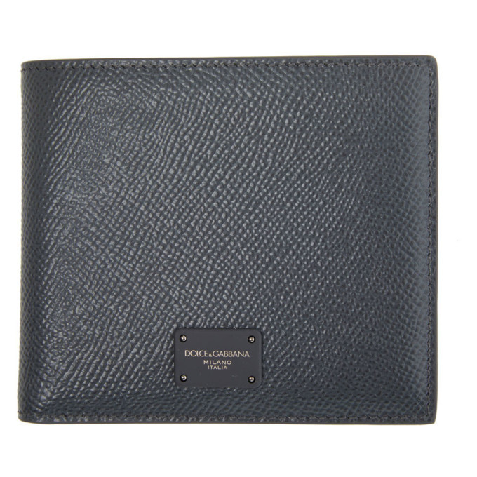 Photo: Dolce and Gabbana Grey Dauphine Bifold Wallet