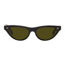 Oliver Peoples Black Zasia Cat-Eye Sunglasses