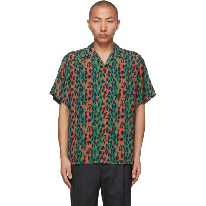 Photo: WACKO MARIA Green Hawaiian Type-6 Short Sleeve Shirt