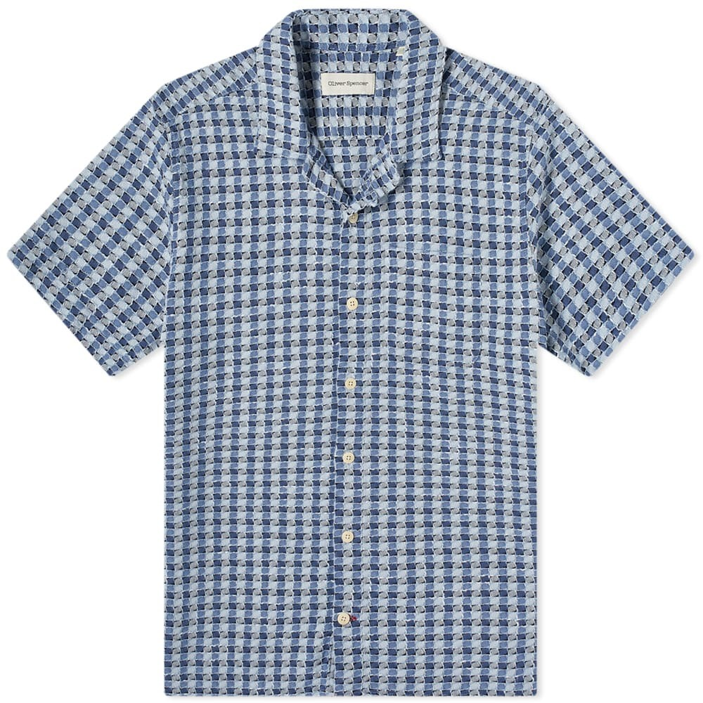 Photo: Oliver Spencer Hawaiian Checked Shirt