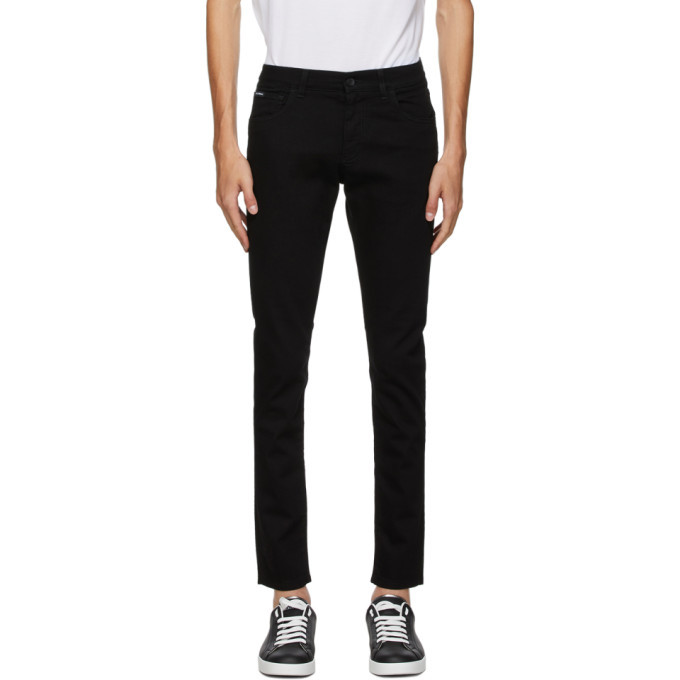 Photo: Dolce and Gabbana Black Essentials Jeans