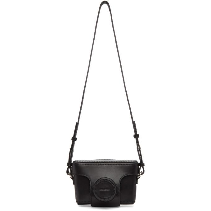 Photo: Neil Barrett Black Leather Camera Bag