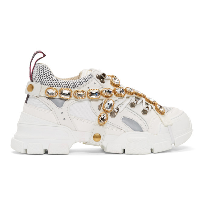 Gucci White Removable Crystals