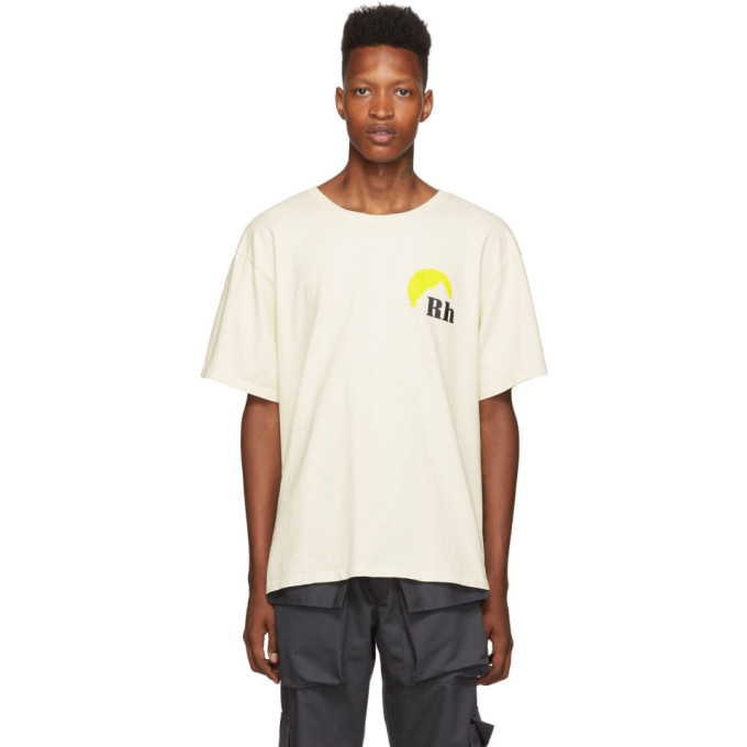 Photo: Rhude Off-White Moonlight Logo T-Shirt