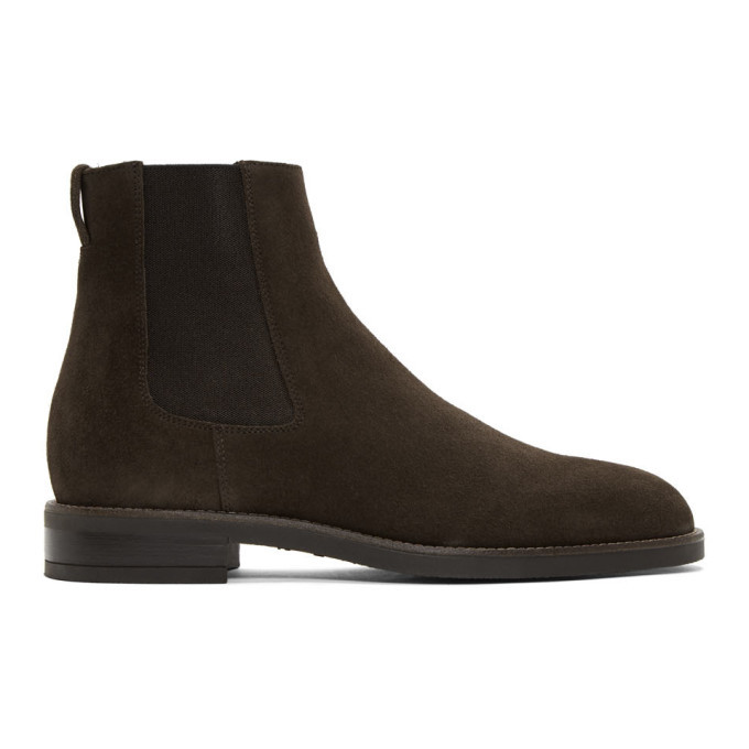 Photo: Paul Smith Brown Suede Canon Chelsea Boots