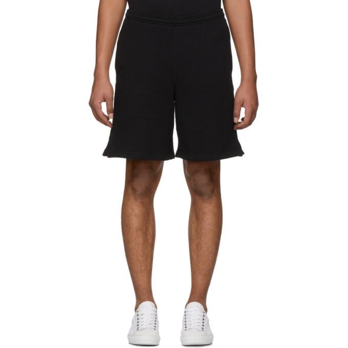 Photo: Off-White SSENSE Exclusive Black 3D Diagonal Shorts