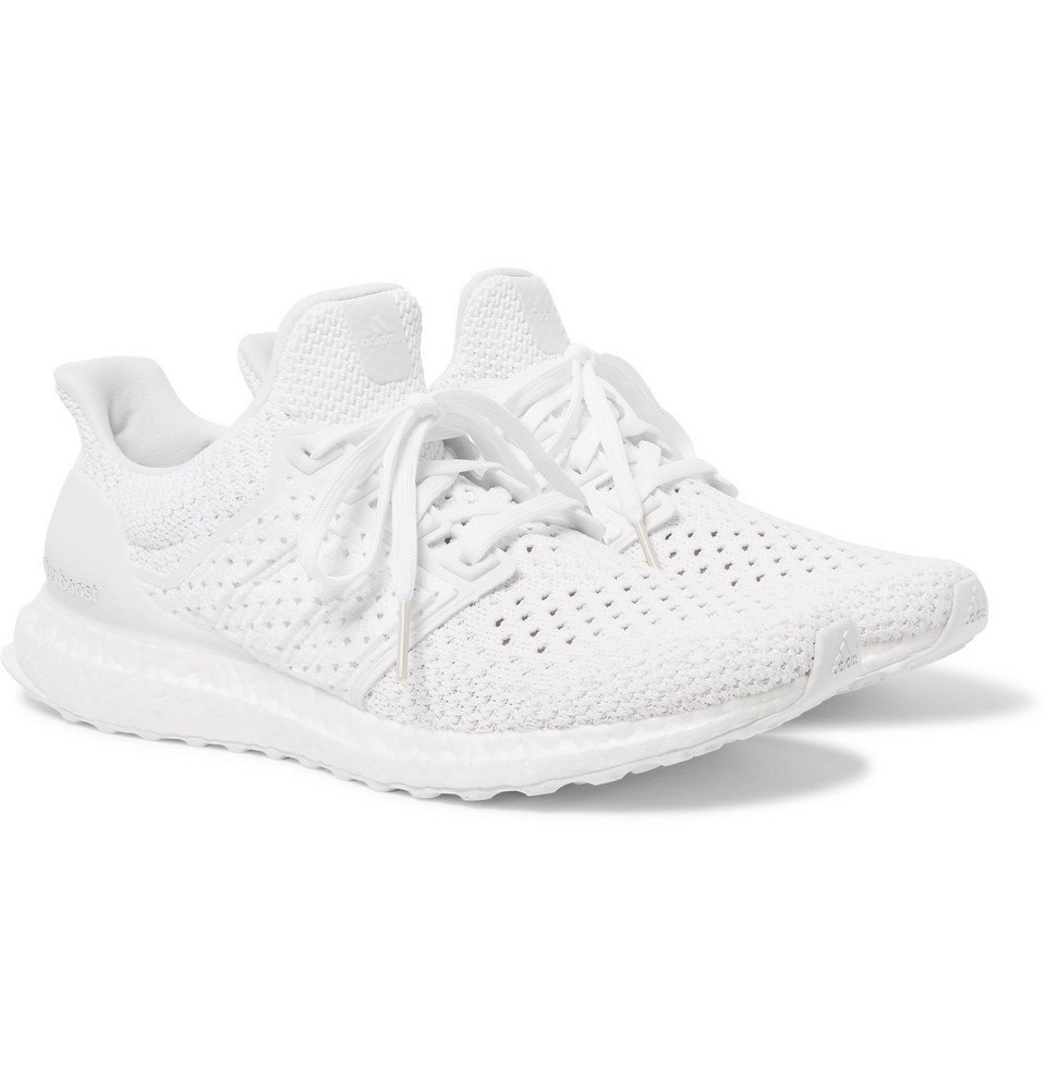 adidas Originals - UltraBOOST Rubber-Trimmed Primeknit Sneakers - Men - White