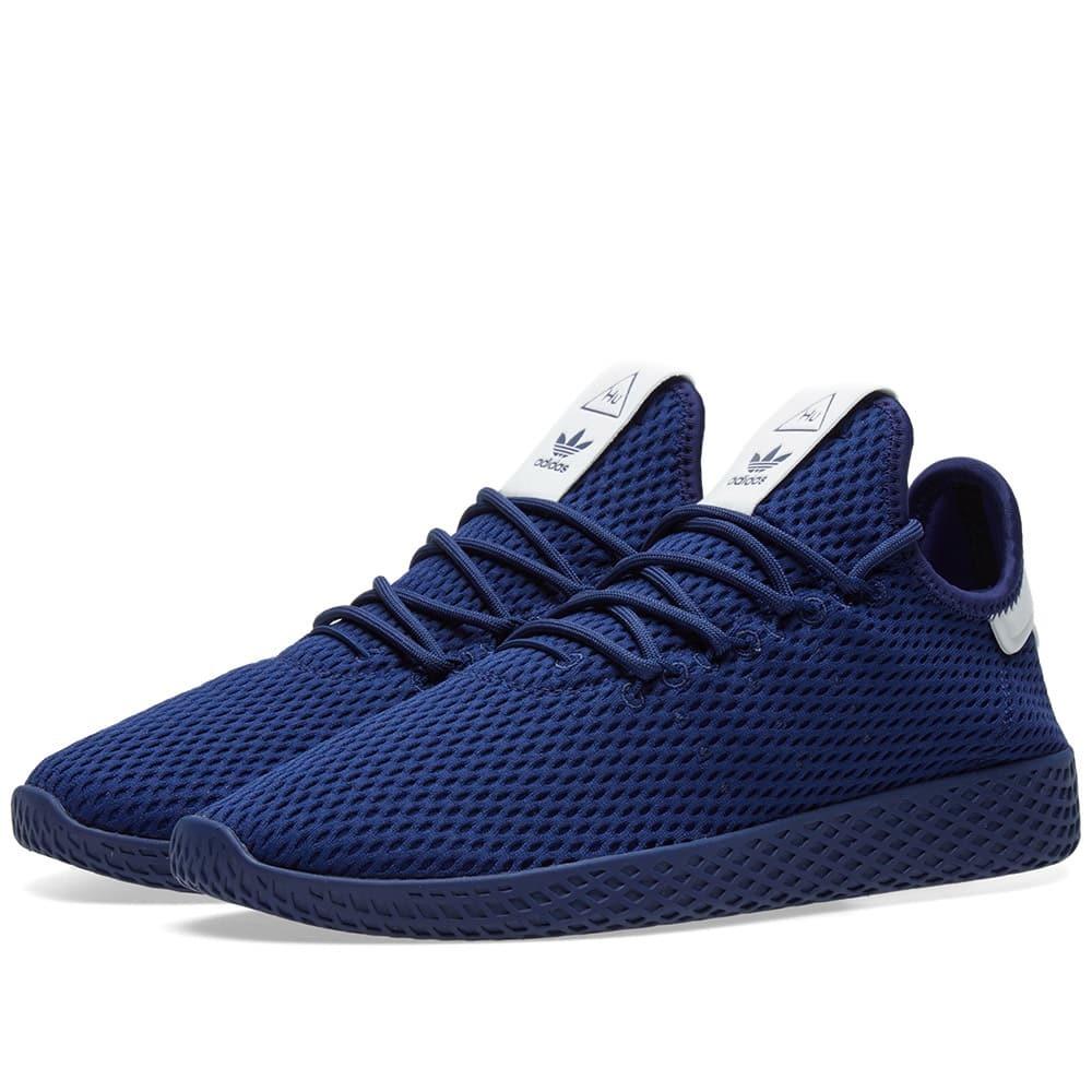 Adidas x Pharrell Williams Tennis Hu Blue