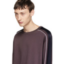 3.1 Phillip Lim Purple Panelled Sweatshirt