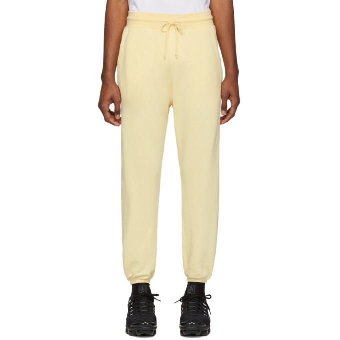 Photo: John Elliott Yellow Vintage Lounge Pants