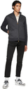 Dunhill Black Cotton Twill Trousers