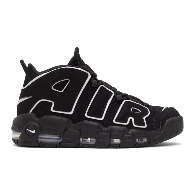 Photo: Nike Black Air More Uptempo Sneakers
